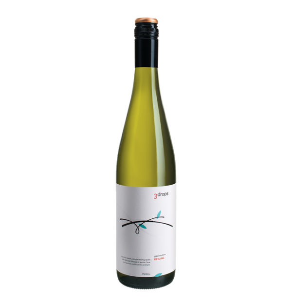 2018 3 Drops Riesling Great Southern