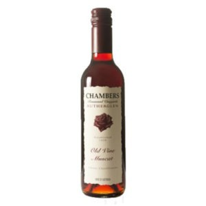 Chambers Rosewood Vineyards Old Vine Muscat 375ml Rutherglen