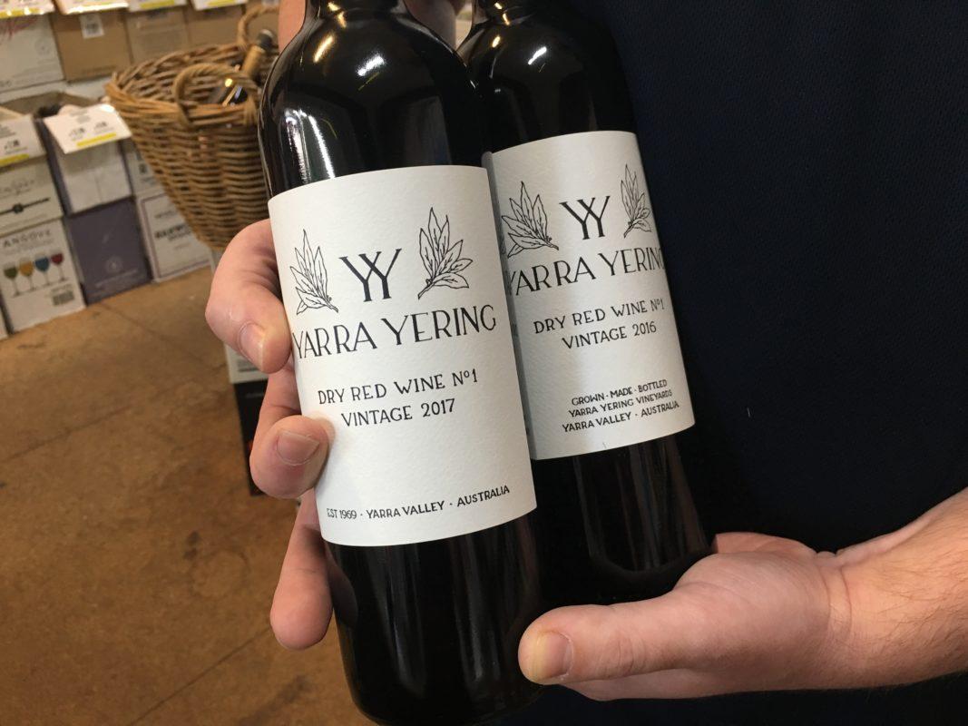 Yarra Yering Dry Red Wine no1 vintage 2017