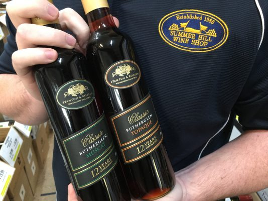 Stanton and Killeen's Rutherglen Classic Muscat, Rutherglen Wines include Muscat and Topaque
