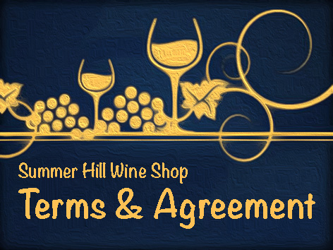 Terms and Agreement header