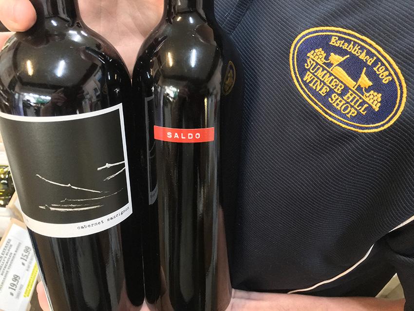 Saldo and Cuttings Cabernet Sauvignon. The prisoner Wine Company Napa Valley Cabernet Sauvignon California.