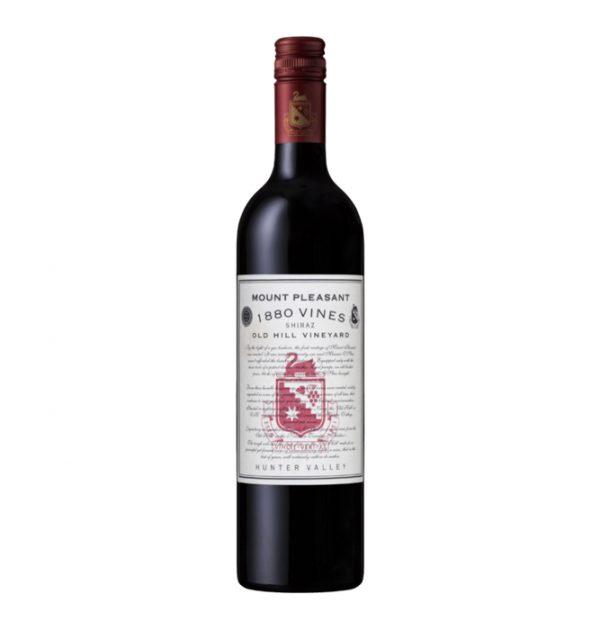 2018 Mount Pleasant 1880 Vines Old Hill Vineyard Shiraz Hunter Valley