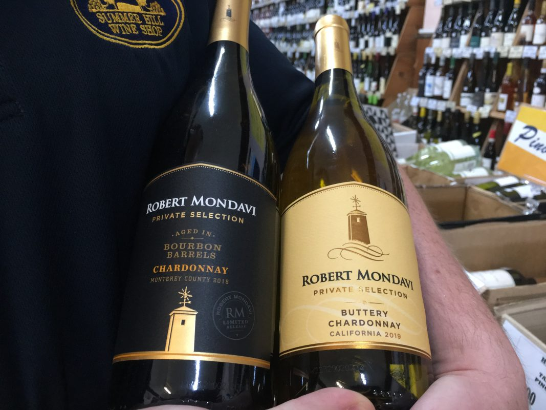Buttery Chardonnay, Bourbon Barrel Chardonnay, Robert Mondavi Wines, Cabernet Sauvignon, Merlot, Pinot Noir Private Selection