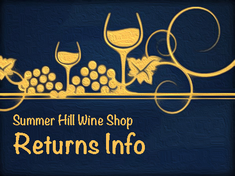 Returns Information for Online Wine Shop Visitors in Australia