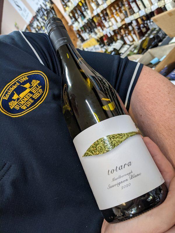 2020 Totara Sauvignon Blanc: White Wine From Marlborough New Zealand